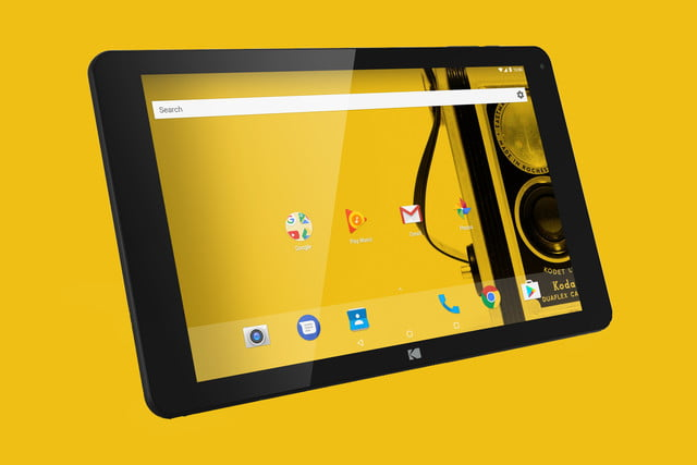 The Kodak Tablet is here — and it's low in both megapixels and price