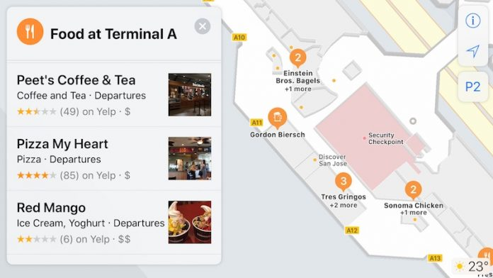 Apple's Indoor Maps for Airports and Shopping Malls in iOS 11 Slowly Rolling Out