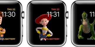 Apple Watch's Toy Story Face Goes Live in watchOS 4 Beta 2 With Numerous Characters and Animations