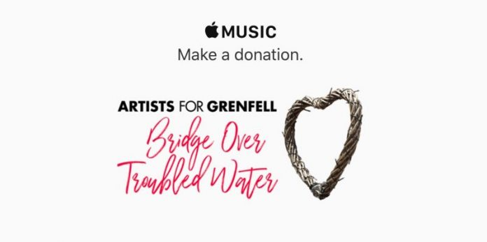 Apple Promotes Music Single to Help Support Victims of London Grenfell Tower Tragedy