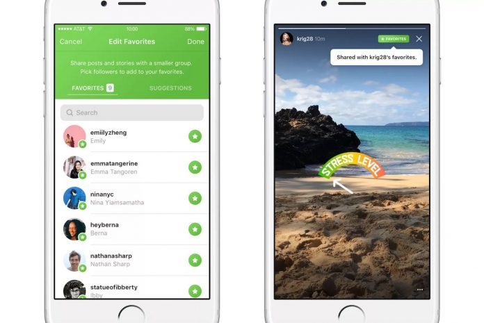 Instagram Testing 'Favorites' List to Enhance Private Sharing Among Custom Friend Group