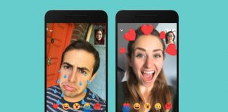 In case you missed that LOL, Facebook Messenger video now has emoji reactions