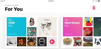 Apple Music's New Curated Playlist 'My Chill Mix' Begins Appearing for Some Subscribers