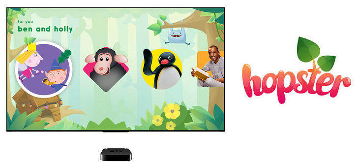Apple TV Search Now Supports Kids App Hopster in United States - AIVAnet