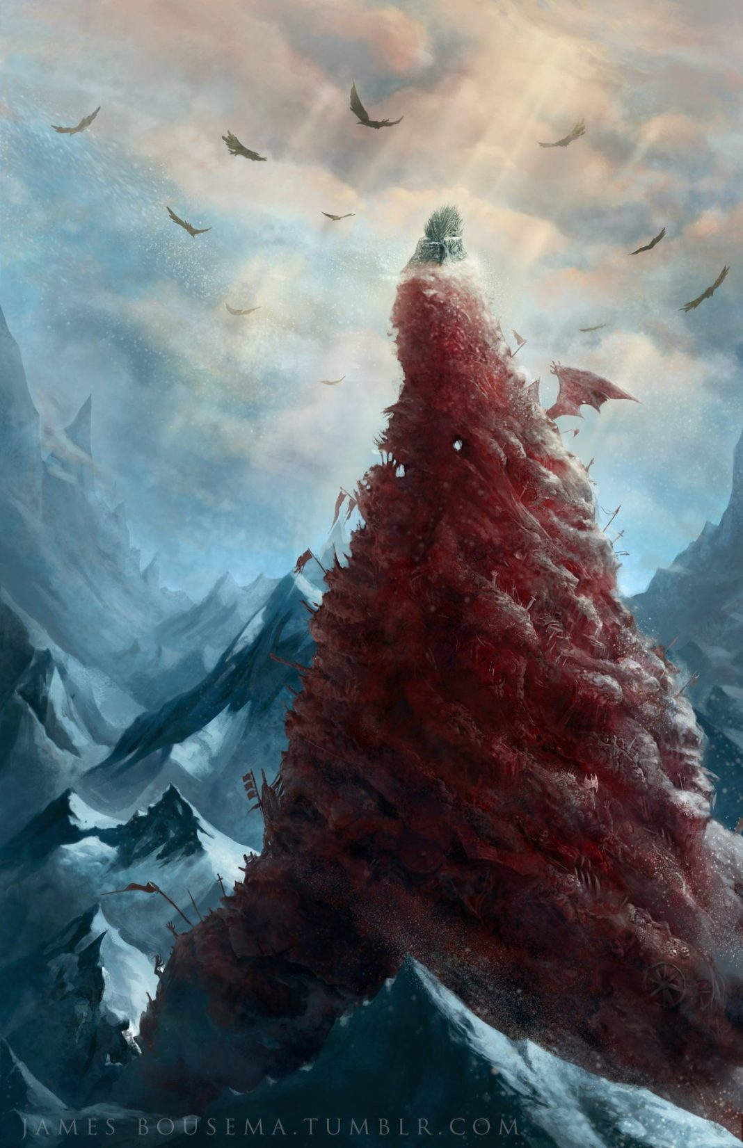 Brace yourself for winter with these Game of Thrones wallpapers