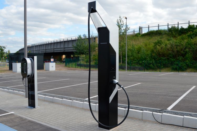 Porsche's new high-speed EV charging station