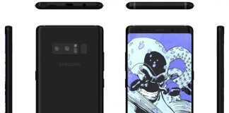 Galaxy Note 8 renders give clean look at boxier design, Infinity Display