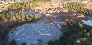 Latest Drone Footage Reveals Landscaping Progress in Apple Park's Inner Circle