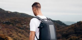 The Numi solar backpack gives travelers security, and a lot of power
