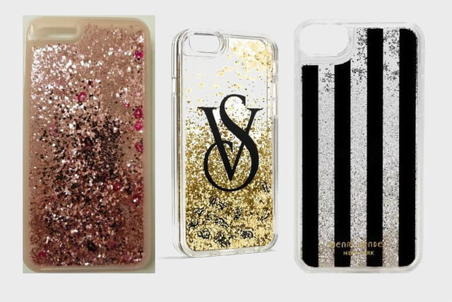 You might need to stop using your glittery iPhone case right now