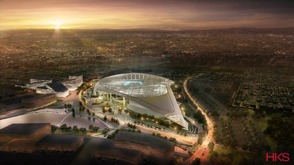 The L.A. Stadium and Entertainment District at Hollywood Park