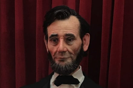 Startlingly lifelike Abe Lincoln robo-bust is absolutely awesome, honest!