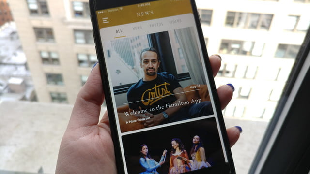 Looking for more of Broadway's 'Hamilton'? There is now an app for that