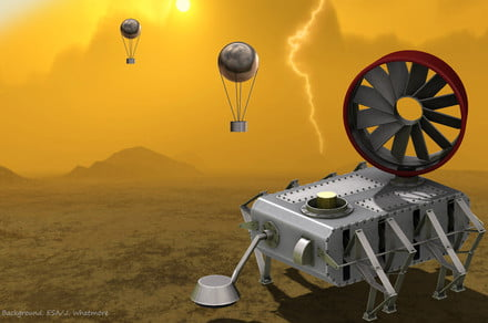 NASA working on Venus rover that can can stand planet's extreme heat, acid rain