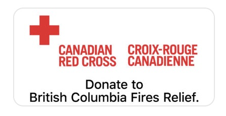 Apple Accepting Red Cross Donations to Aid British Columbia Wildfire Relief Efforts