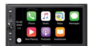Sony Introduces New Aftermarket CarPlay and Siri Eyes Free Systems