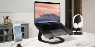 Twelve South Debuts 'Curve' Stand for Apple Notebooks