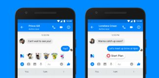 Facebook's AI suggestions come to Messenger in the UK