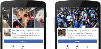 Facebook Will Now Let You Raise Money for Nonprofits on Your Birthday