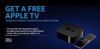 AT&T Again Giving New DirecTV Now Subscribers a Free Apple TV