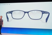 Facebook patent reveals more details about its AR glasses