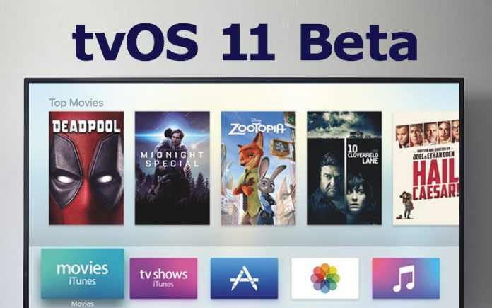 Apple Seeds Seventh Beta of Upcoming tvOS 11 Update to Developers