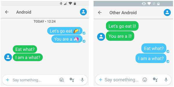 Everything you need to know about Android Oreo emoji, fonts