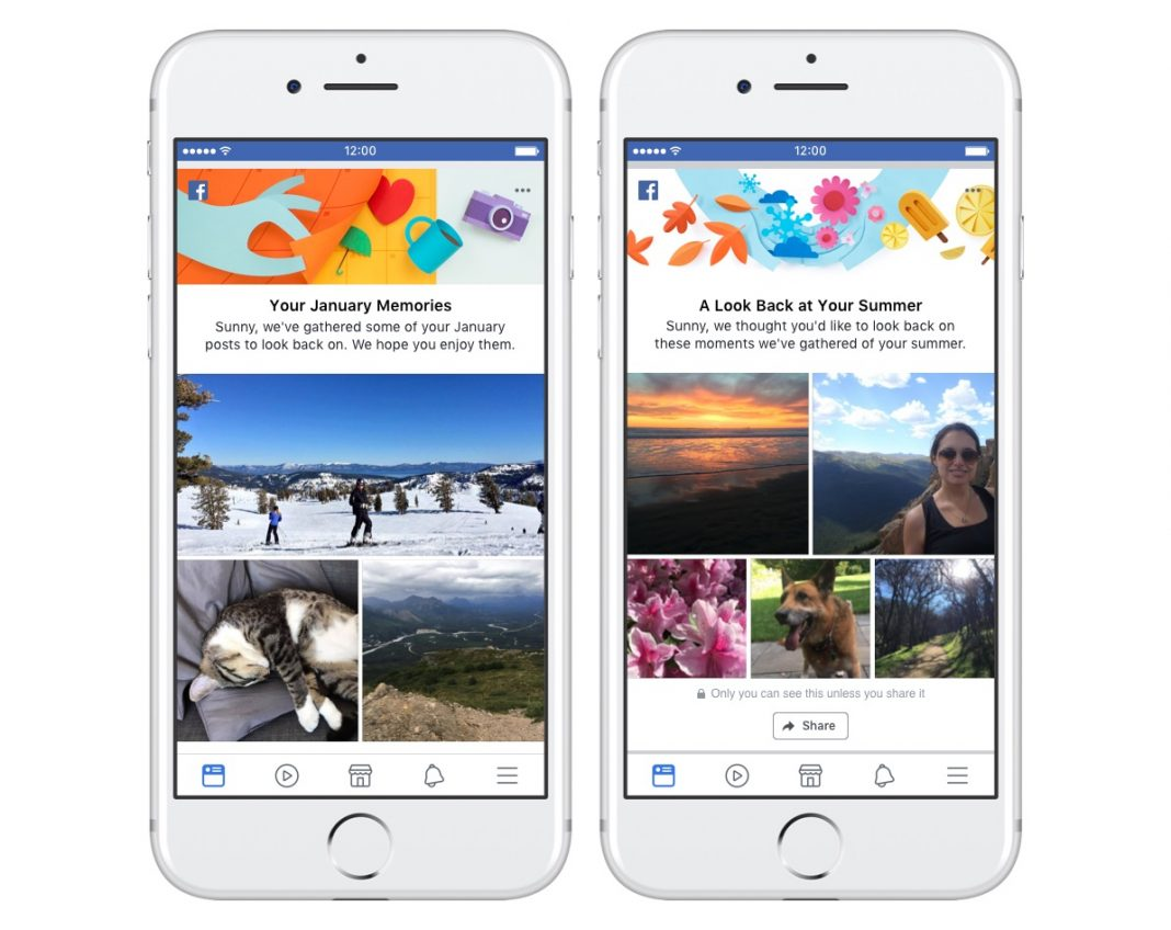 Facebook Expands 'On This Day' to Include Monthly and Seasonal Memory Recaps