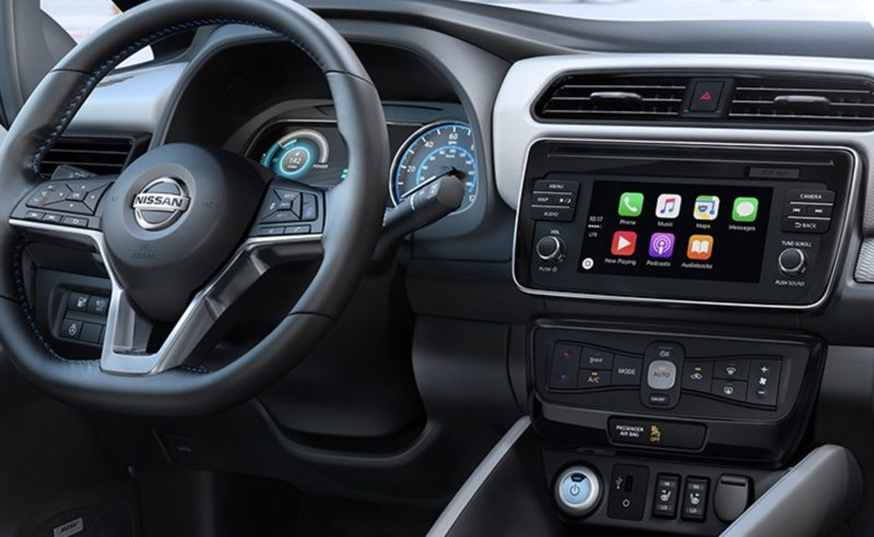 New 2018 Nissan Leaf Features Support for CarPlay - AIVAnet