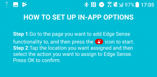 HTC U11's Edge Sense squeeze function updated with in-app customization options