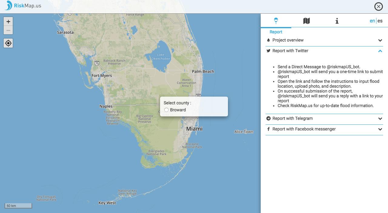 MIT Is Crowdsourcing Hurricane Flood Maps In Florida AIVAnet - Hurricane flood map