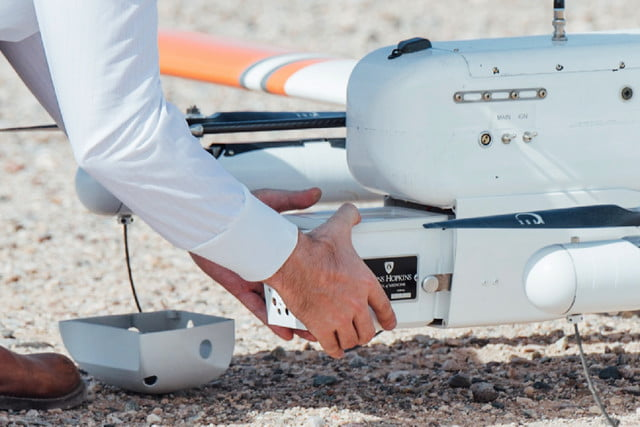 Medical delivery drones set new distance record for transporting blood samples