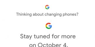 Official: Google to announce Pixel 2 on Oct. 4