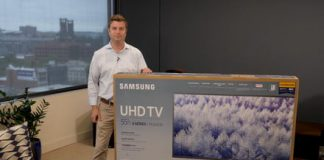 Samsung MU6300 unboxing and setup: Get this stylish 4K TV up and running