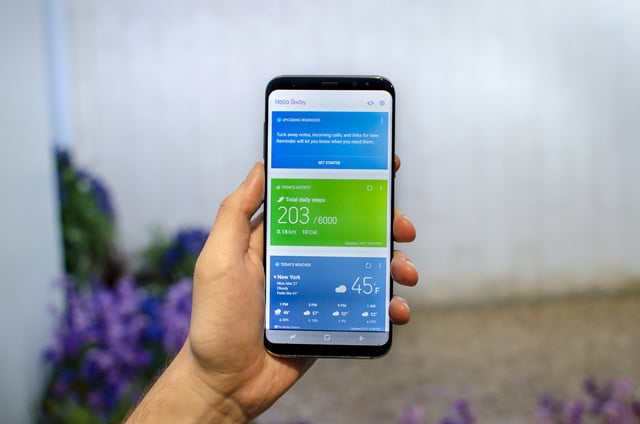 how to stop bixby on s8