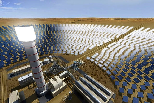 World's tallest solar tower will cap off the world's largest solar park in Dubai