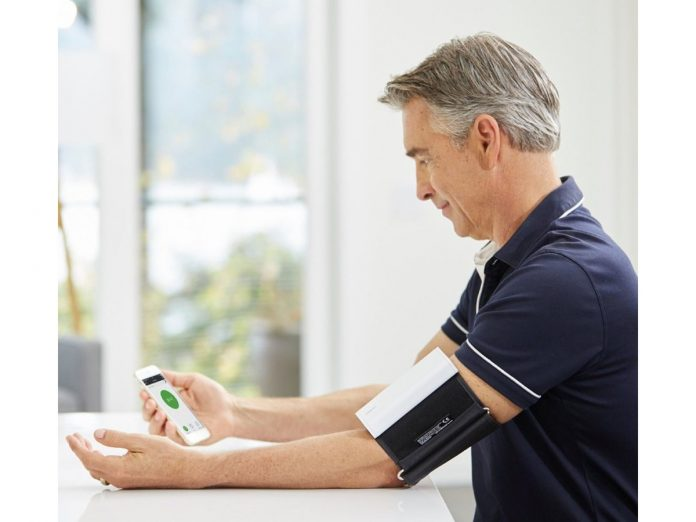 Get accurate blood pressure results on your smartphone with the $64 QardioArm monitor