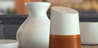 The LOFT battery base lets you take Google Home anywhere