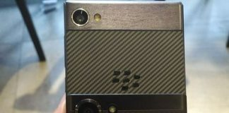 This could be the first glimpse of the BlackBerry 'Krypton'