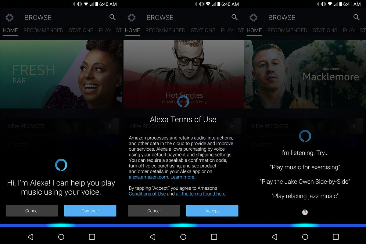 Amazon Music app adds Alexa support (but only in four