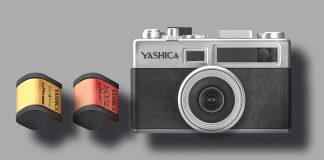 Pretend you still need film with Yashica's digital camera