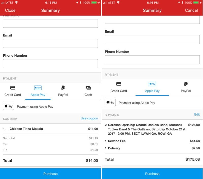 Yelp for iOS Gains Support for Apple Pay