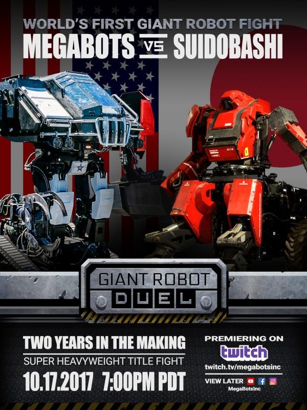 MegaBots flyer