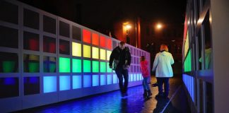 Google helped create this energy-harvesting walkway that turns steps into light