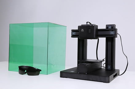 The Mooz is a 3D printer that also serves as a carver and engraver