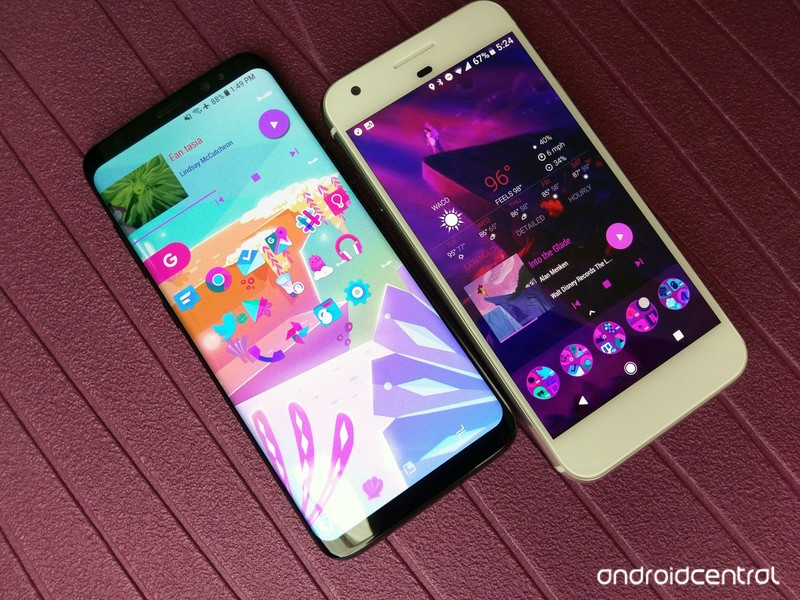 Best launchers for theming your Android phone | AIVAnet