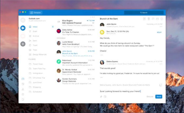 Outlook for desktops will behave a lot like the mobile app