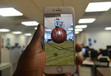 NBA augmented reality app lets you be an iPhone Steph Curry anywhere