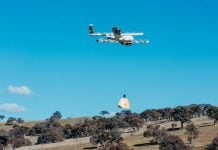 Drones are delivering burritos direct to the homes of rural Australians