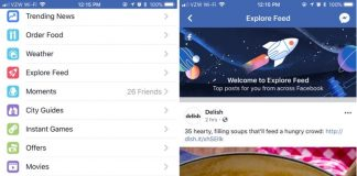 Facebook Officially Rolling Out 'Explore Feed' for Finding Non-News Feed Content